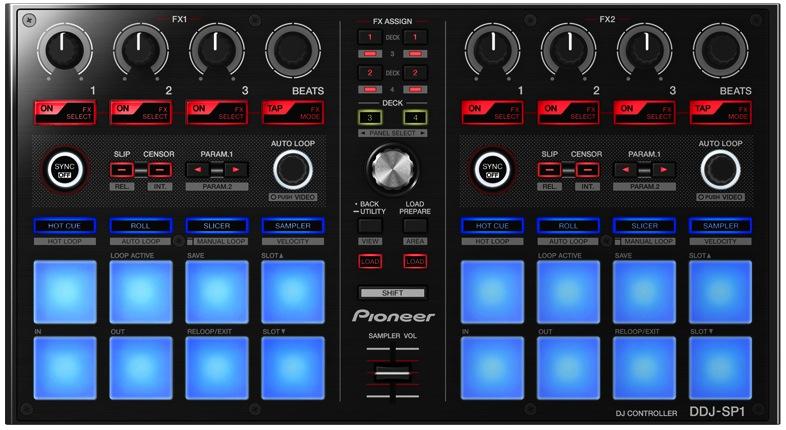 Conheça a Pioneer Digital DJ-SP1 ddj, DJ-SP1, pioneer, Serato