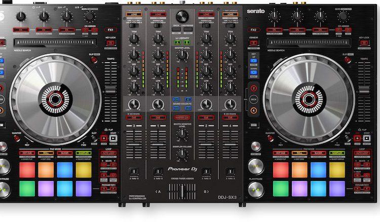 DDJ-SX3 Pioneer DJ controlador