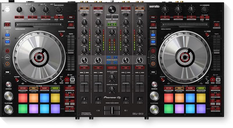 DDJ-SX3 Pioneer DJ #djbanemc, controlador, ddj, ddj-sx3, ddjsx3, DJ, Magento, midi, pioneer dj, serato dj pro, sx