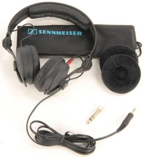 Review - Sennheiser HD 25-1 II fone, sennheiser, Sennheiser HD 25-1 II