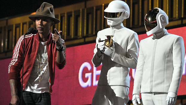 Daft Punk é o grande vencedor do Grammy 2014 Pharrell Williams