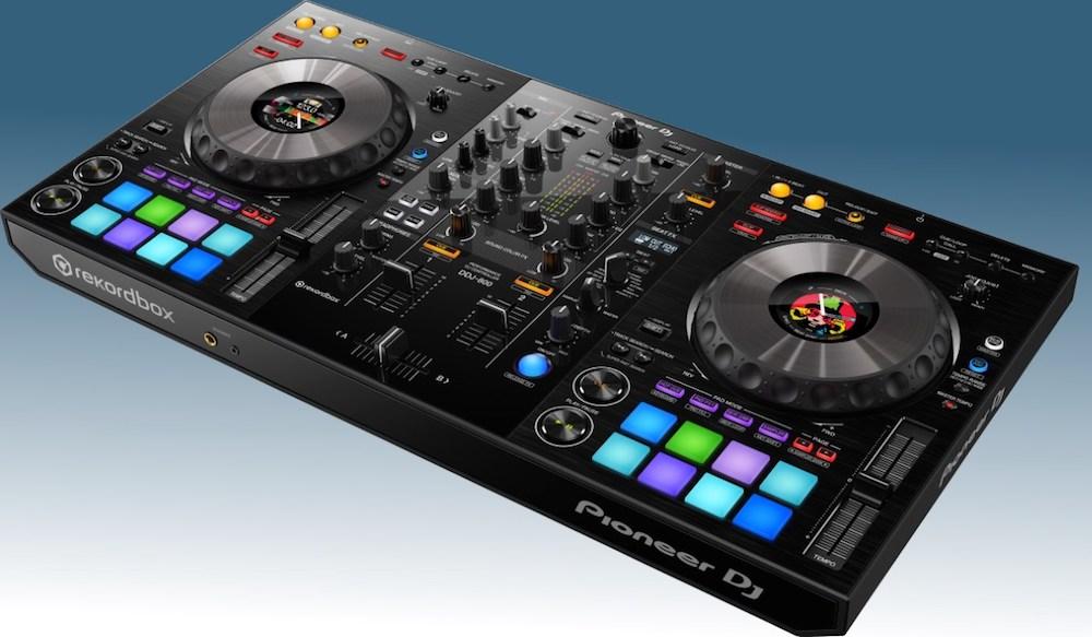 DDJ-800 Pioneer DJ controladora, controller, DDJ 800, DJ, performance, pioneer, pioneer dj