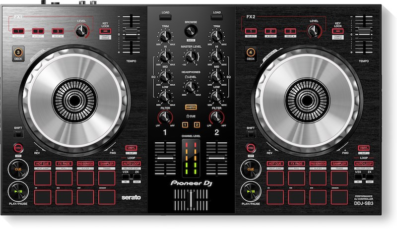 DDJ-SB3 Pioneer DJ, o que mudou? controlador, ddj, ddj-sb3, ddjsb3, DJ, DJBan - EMC, Magento, pioneer dj, pionner, serato lite, sofftware