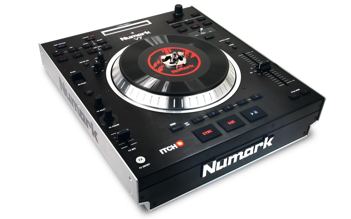 Controladora Numark V7: Dois decks em um controladora, lançamento, numark, v7