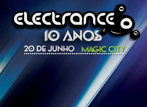 Electrance 10 Anos no Magic City com Joris Voorn, Sam Paganini e Oliver Giacomotto, dia 20.06 Electrance