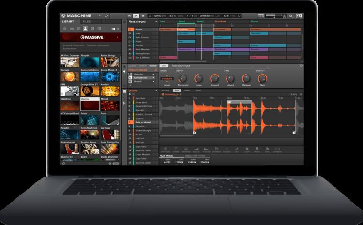 Conheça o Maschine: software de produção musical e performance logic