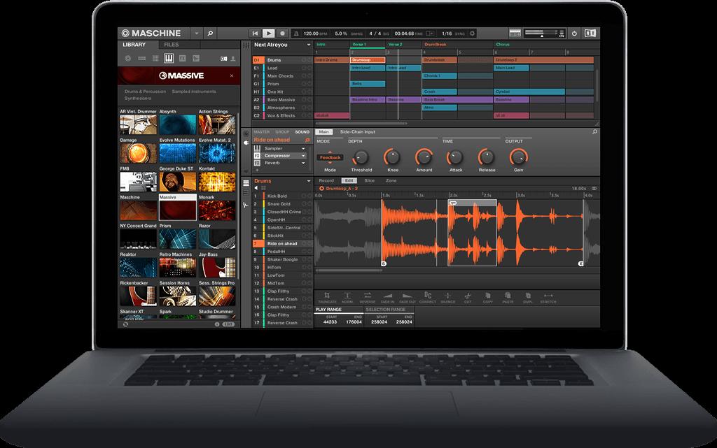 Conheça o Maschine: software de produção musical e performance Ableton, daw, Drumbox, logic, maschine, Maschine Expansions, música eletrônica, native instruments
