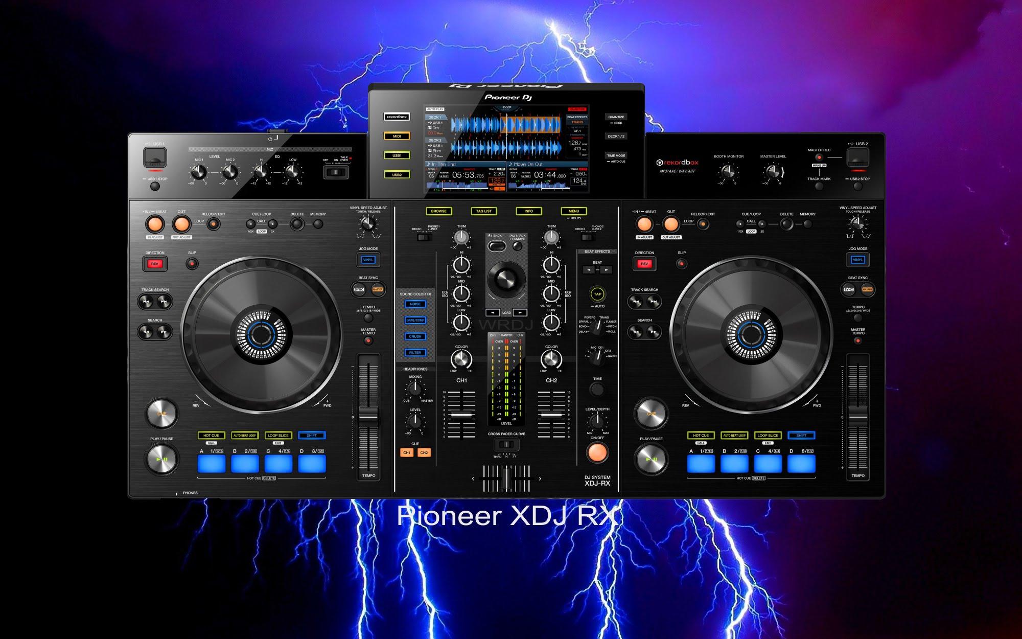 XDJ-RX: Pioneer lança controladora para Rekordbox controladora, pioneer, rekordbox, XDJ-RX