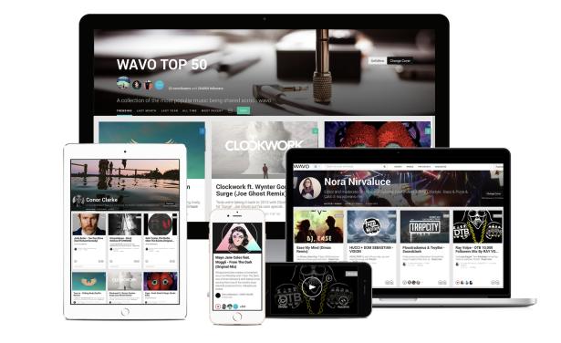 WAVO a nova plataforma virtual para artistas e fãs soundcloud