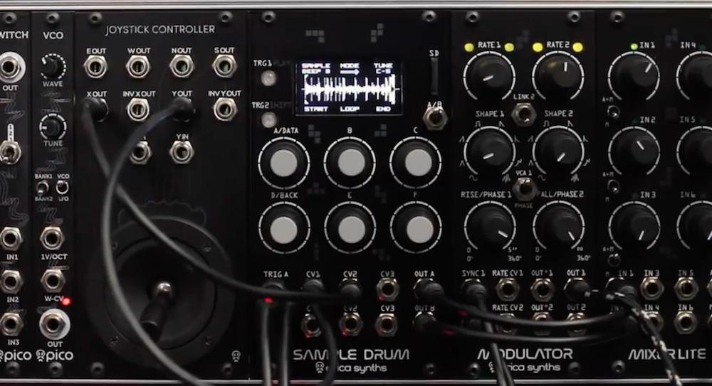 Erica Synth Sample Drum e Plasma Drive está disponível para venda ! ban, plasma drive, plugin, Produção musical, sample drum