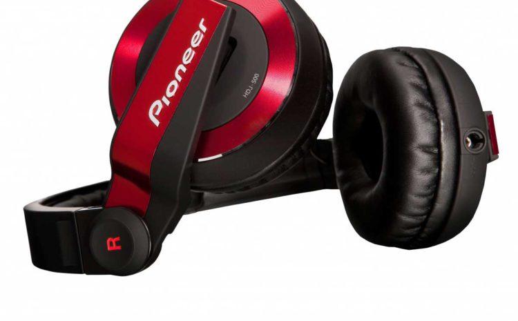 HDJ-500, novo fone Pioneer. Design, conforto e qualidade! rpdj1200a