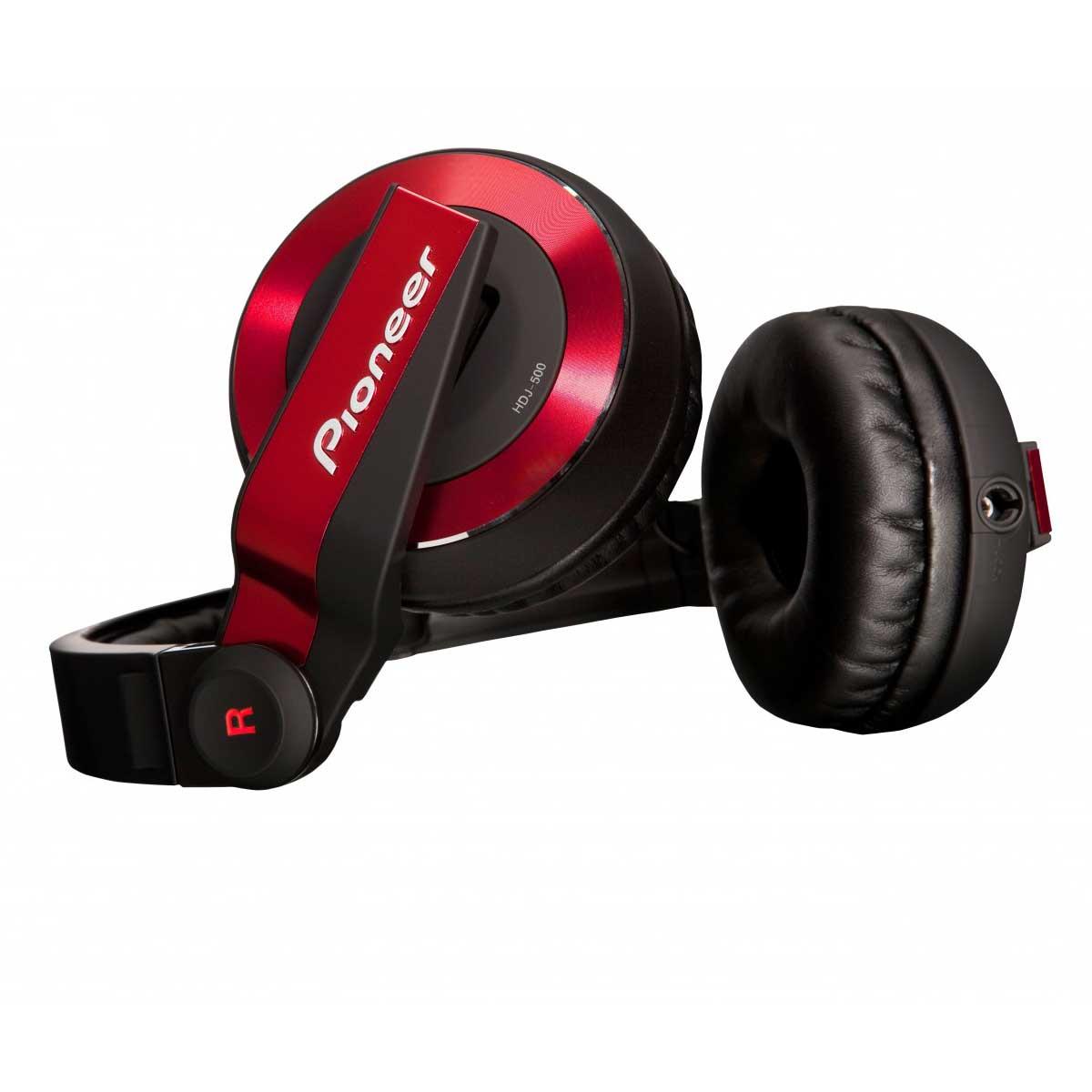 HDJ-500, novo fone Pioneer. Design, conforto e qualidade! fones de ouvidos, hdj1000, hdj2000, hdj500, pioneer, rpdj1200a, technics