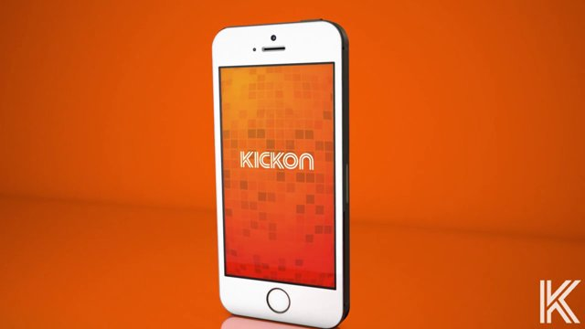 "Onde é o After? Descubra com o app ""KickOn"" app"