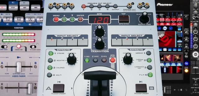 Mixers de Vídeo: de onde vieram, para onde vão? dvj, equipamento, hardware, mixer, vídeo, vj