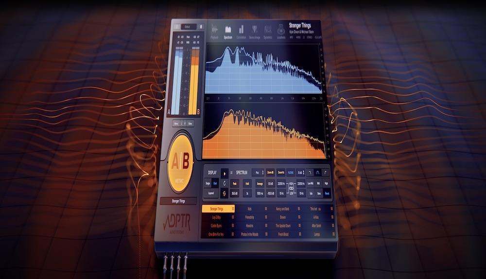 ADPTR Metric AB - Escute, veja e corrija #cursodeproducao, Ableton, ableton 10, Music Metric, plugin, Plugin Alliance, síntese sonora