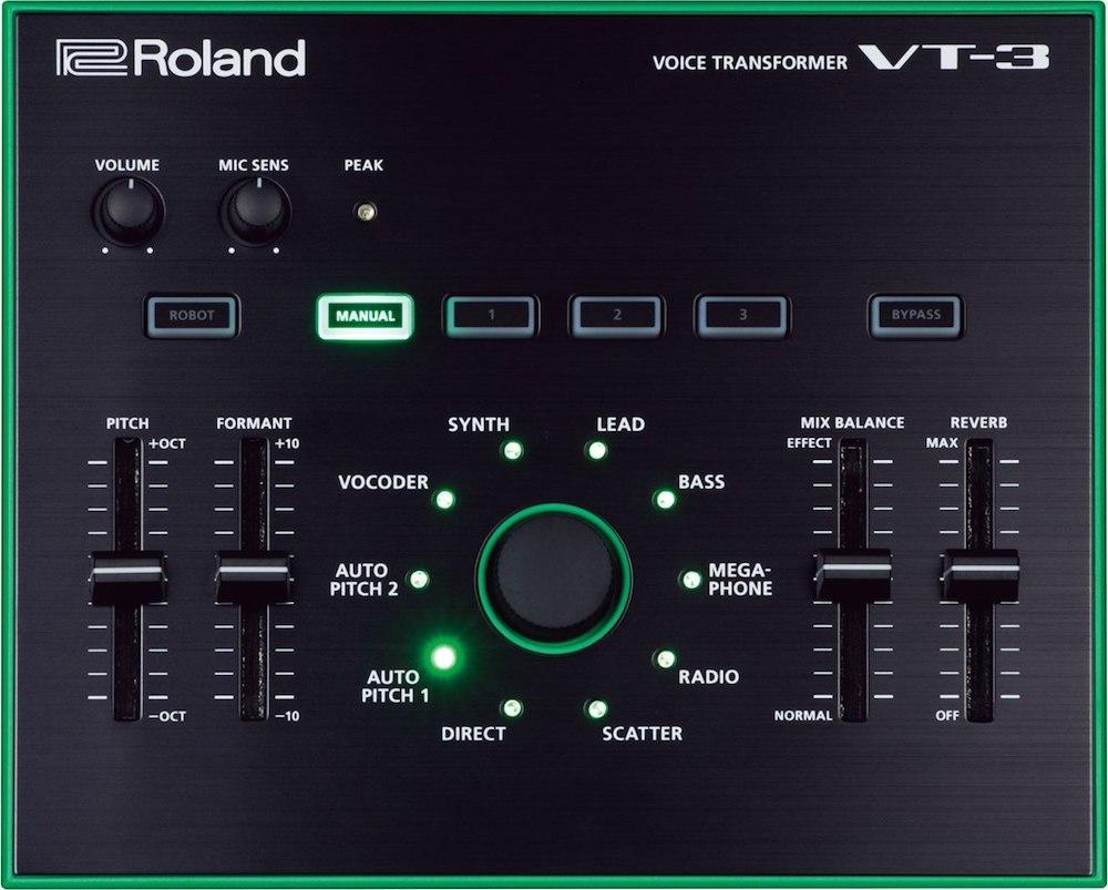 Roland VT-3 aira, efeito, Magento, processador, roland vt3, simulador, transformer, vocal, vocoder, voz