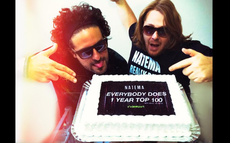 Natema - Everybody Does: 1 ano no Top100 do Beatport beatport