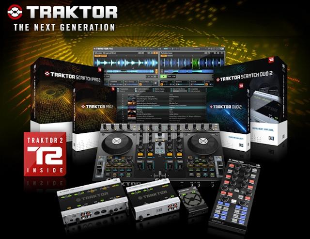 Saiba tudo sobre o novo Traktor 2 audio 10, audio 2, audio 2 dj, audio 4, discotecagem, native instruments, novo traktor, software, Traktor, traktor 2