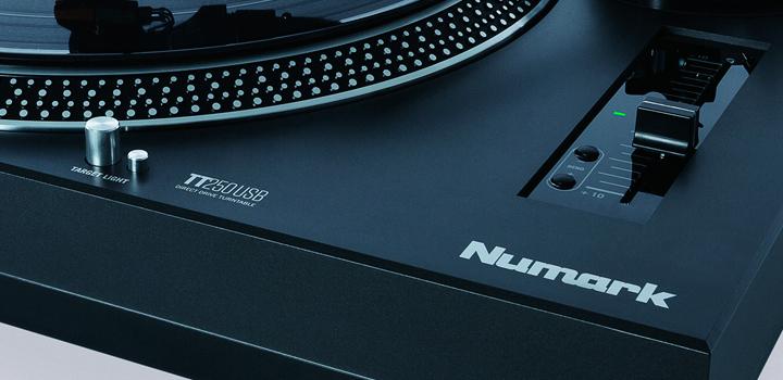 TT250USB: o novo toca-discos da Numark toca-discos