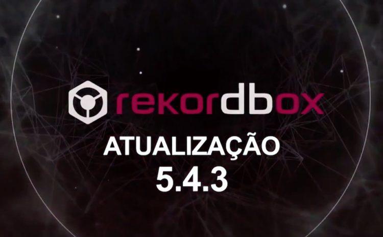 Rekordbox 5.4.3 - Tonalidade Alfanumérica pioneer dj