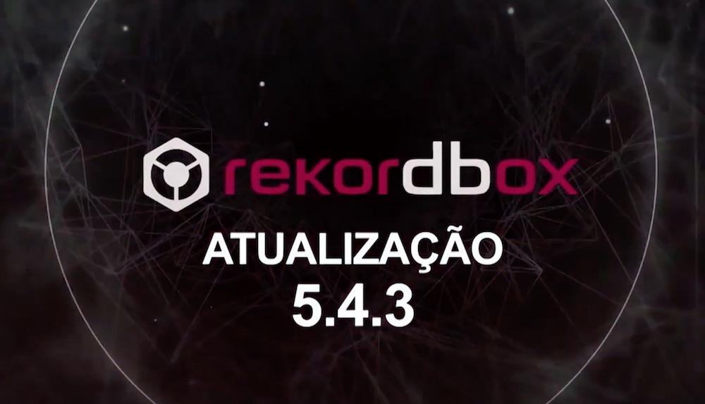 Rekordbox 5.4.3 - Tonalidade Alfanumérica alfanumérica, atualização, cifras, curso de dj, dj ban, gkd, leitura, mixagem, mixing key, pioneer dj, rekordbox 5.4.3, tonalidade, versão