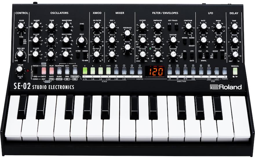 Sintetizador SE-02 (Roland Boutique) #boutique, #djbanemc, #timbre, analog, analógico, Ban -EMC, bass, modular, roland, sintetizador, synth