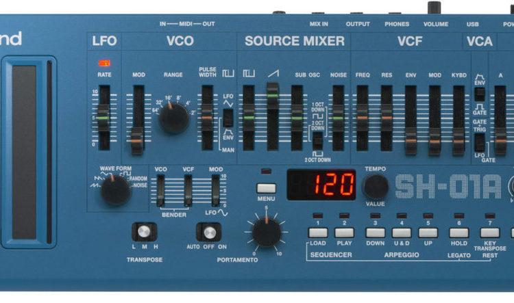SH-01A-BU (Roland Boutique) sintetizador