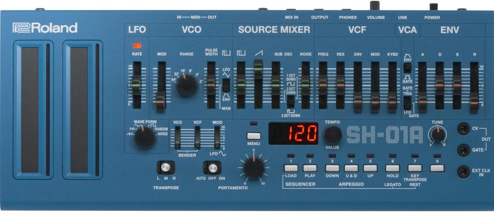 SH-01A-BU (Roland Boutique) #boutique, aira, arpeggiator, Magento, polifonico, roland, rolandplace, sequenciador, sh01, sh101, sintetizador