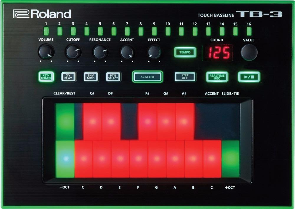 Bass Machine TB-3 aira, attack, bass, DJBan - EMC, elfeito, leads, machine, Magento, oscilador, roland, roland place, slide, tb3