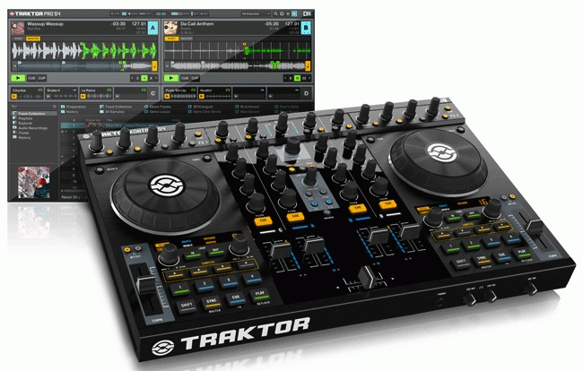 As principais controladoras de 4 decks: Compare numark ns6