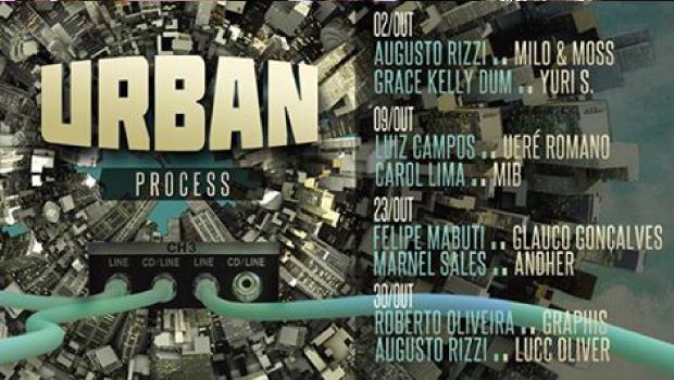 Urban Process: Nova noite do Squat Bar tem alunos da Ban-EMC no lineup augusto rizzi, Ban -EMC, DJ, grace kelly dum, marnel, Milo & Moss, música eletrônica, Rodolfo Moss, Squat Bar, Urban Process, Yuri S.