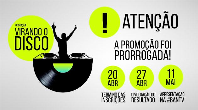 """Promoção """"Virando o Disco"""" vai transformar sua carreira de DJ: Inscrições encerradas! press kit"""