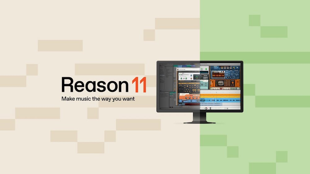 Reason 11 Agora é Reason Studio e Se Transforma em plug-in VST e AU