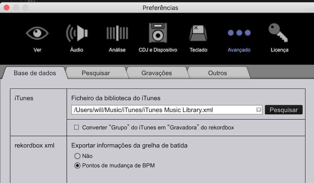 Como Exportar o XML do Music App Para Rekordbox 5.8