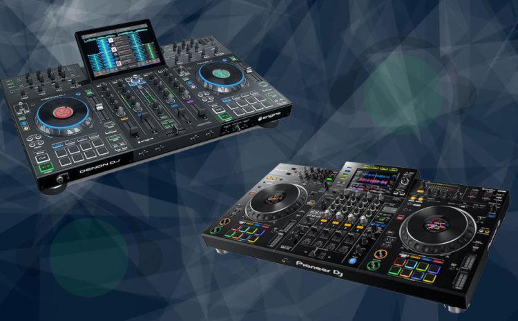 Denon DJ Prime 4 vs. Pioneer DJ XDJ XZ - Qual A Melhor? DJs