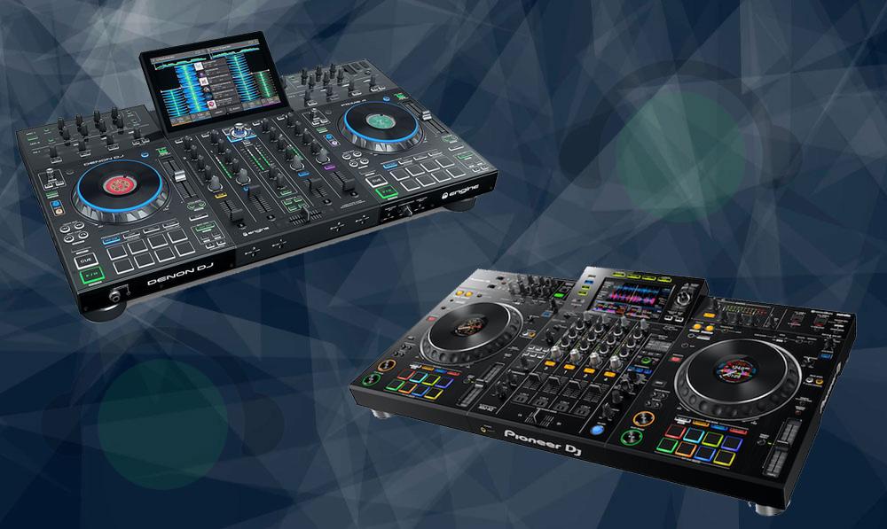 Denon DJ Prime 4 vs. Pioneer DJ XDJ XZ - Qual A Melhor?