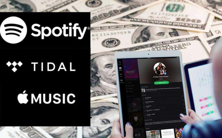 Principais Labels Geram U$1 Milhão em Streaming Música
