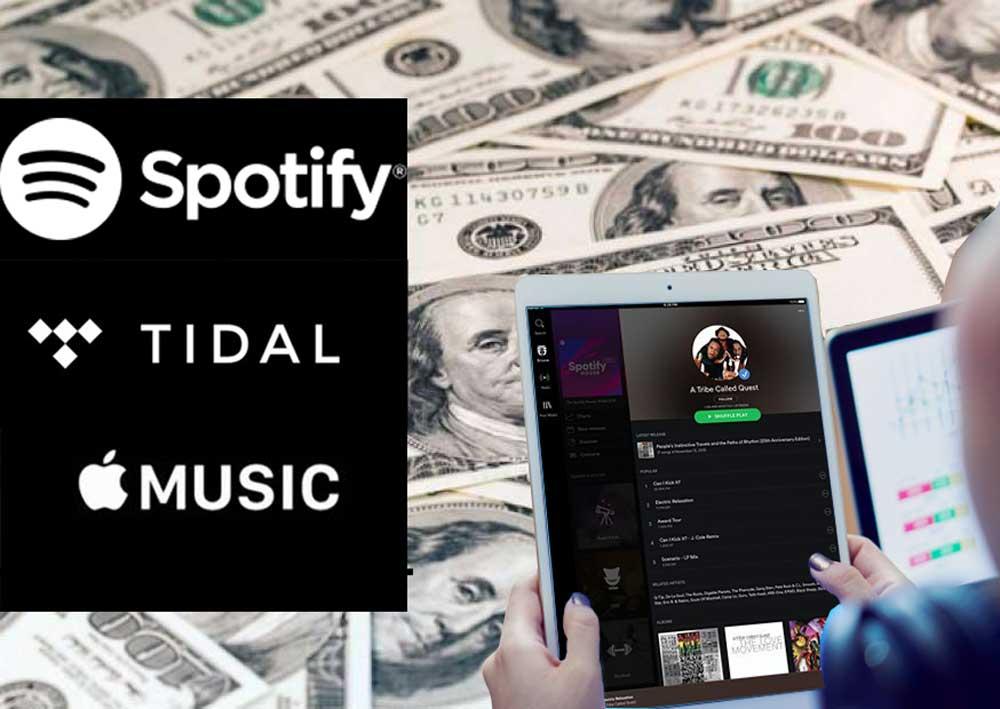 Principais Labels Geram U$1 Milhão em Streaming